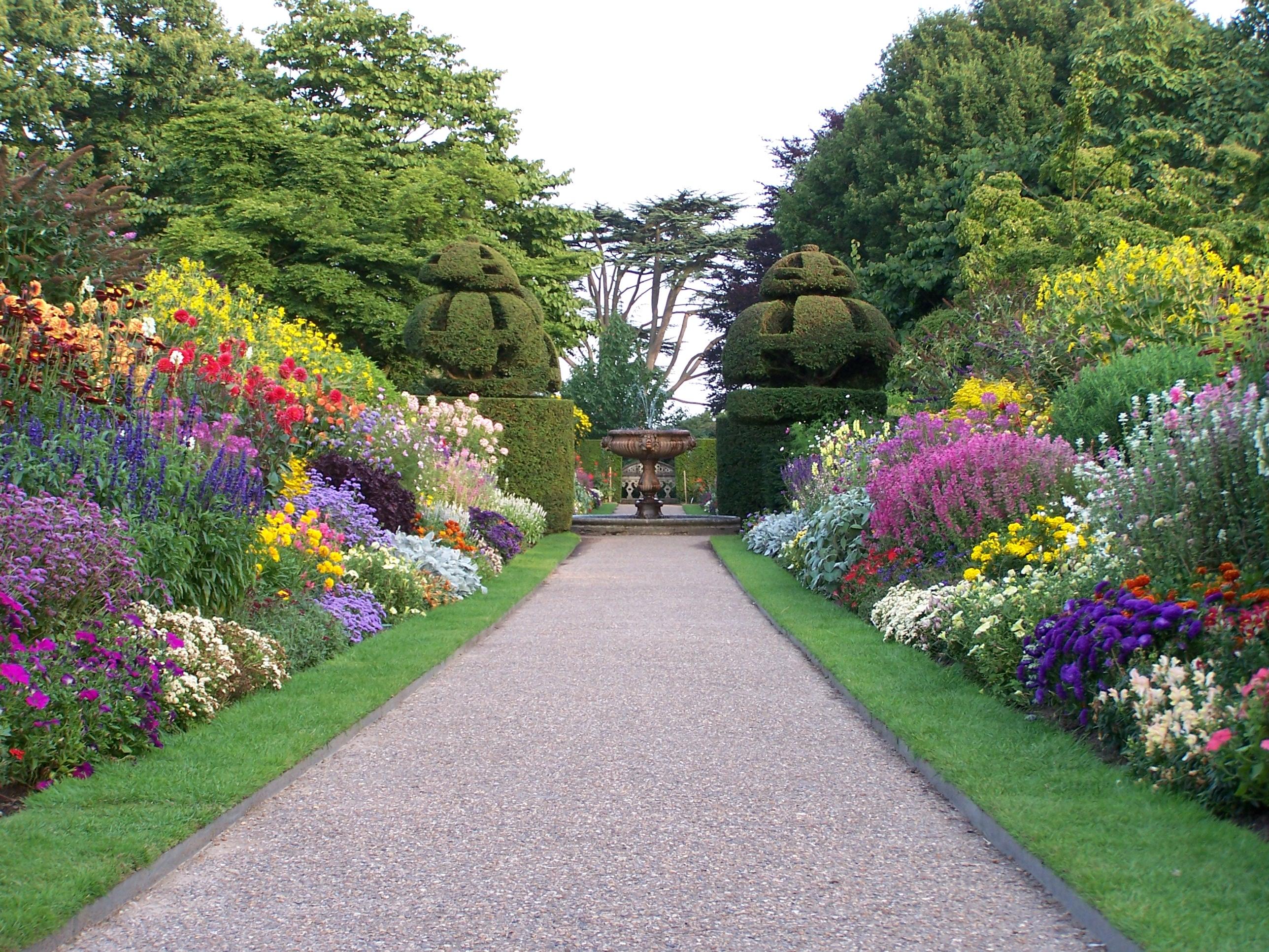 Nymans viaje a visitar jardines ingleses for Arboles y plantas de jardin