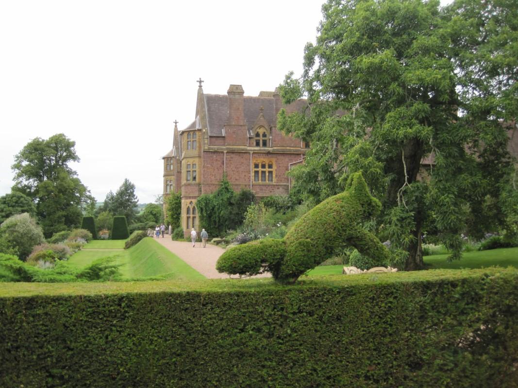 Knightshayes viaje a visitar jardines ingleses - Jardines para casas de campo ...