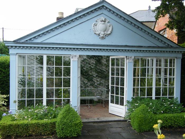 The courts viaje a visitar jardines ingleses - Invernadero en terraza ...